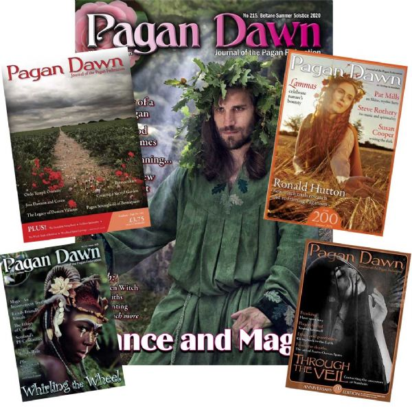 Pagan Dawn Magazine Yearly Subscription